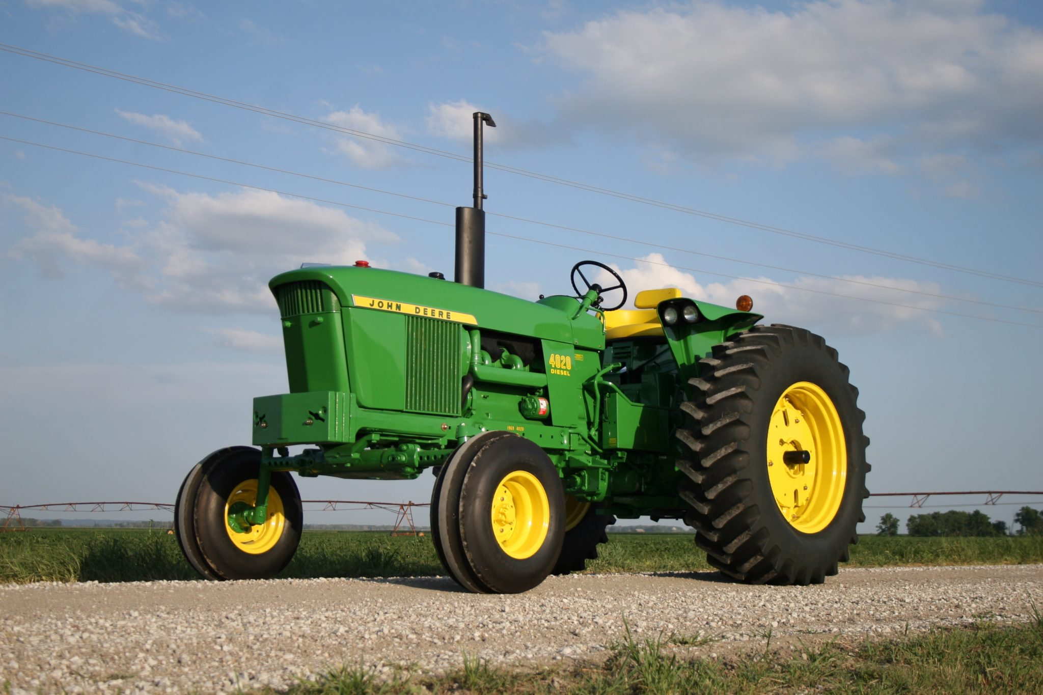 the john deere 4020 new generation tractor green magazine