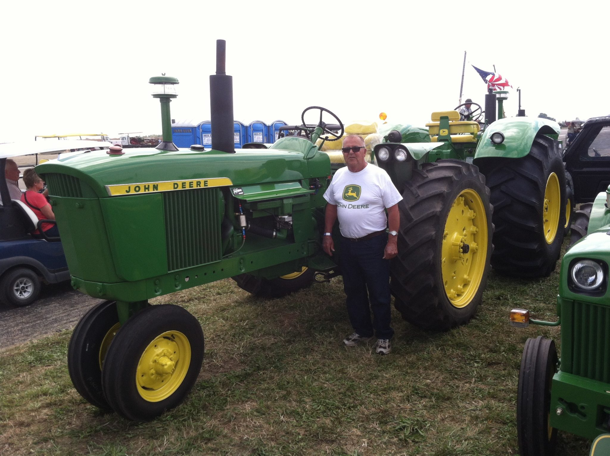 Bringing The Gas Tractor Into 21st Century Green Magazine John Deere 2020 Wiring Harness