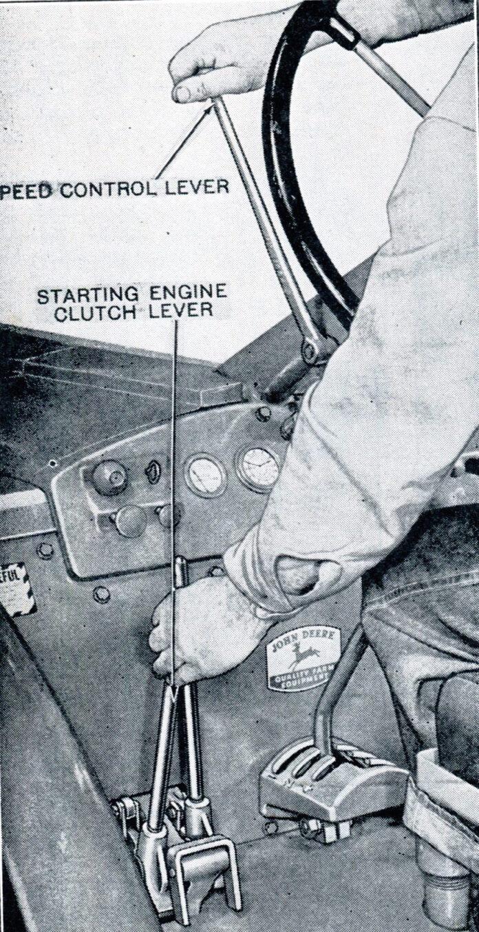 STARTING TANK GAS CAP PONY FOR JOHN DEERE MOTOR