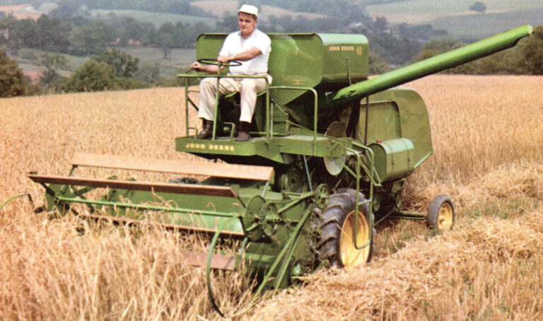 The Smallest Combines of the 1960s.